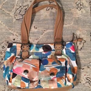 NWOT VERY COLORFUL ROSETTI PURSE
